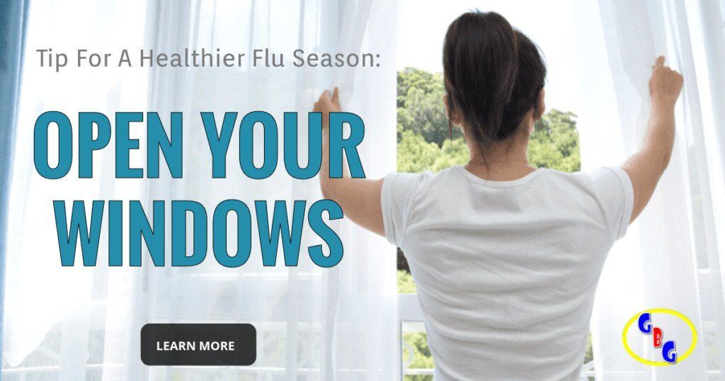 tips for a healthier flu season open your windows