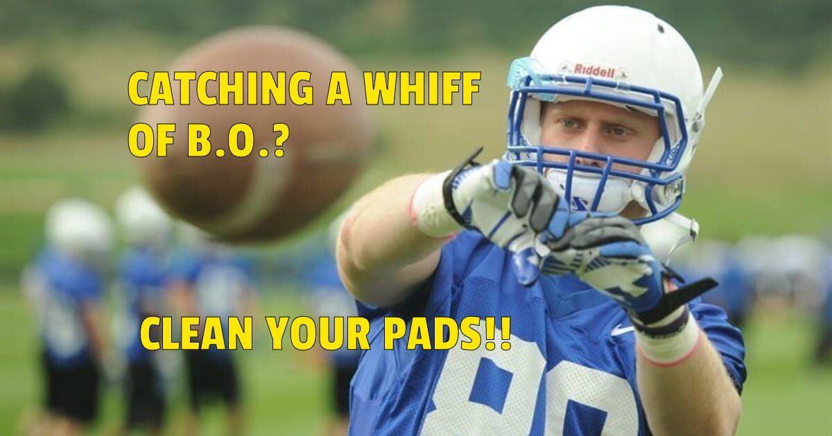 How To Keep Your Football Pads From Stinking https://germzbegone.com/keep-football-pads-stinking/